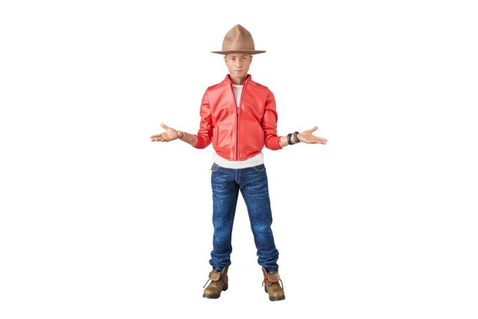 Pharrell Is Getting His Own Medicom Action Figure