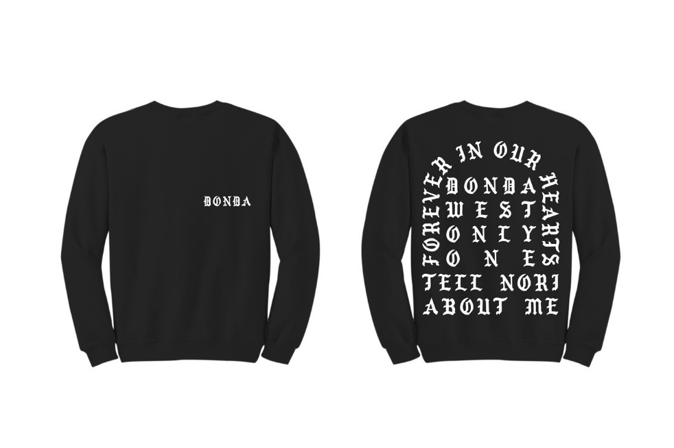 kanye west releases new merch commemorating his late mother