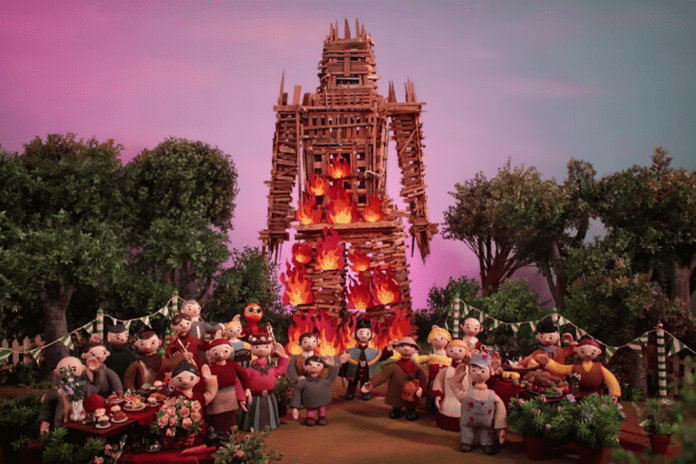"Radiohead Unveil Video for ""Burn The Witch"""