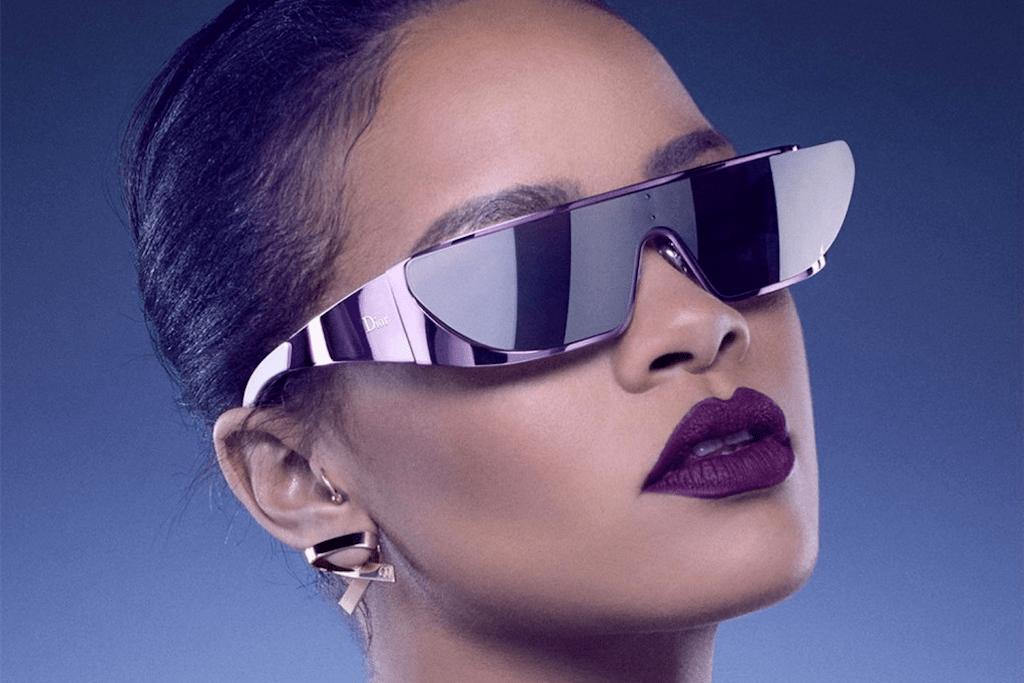 Rihanna Teams up With Dior on a Sunglass Collection