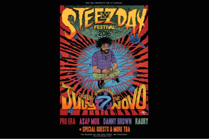 Joey Bada$$ and Pro Era Announce Second Annual Steez Day Festival