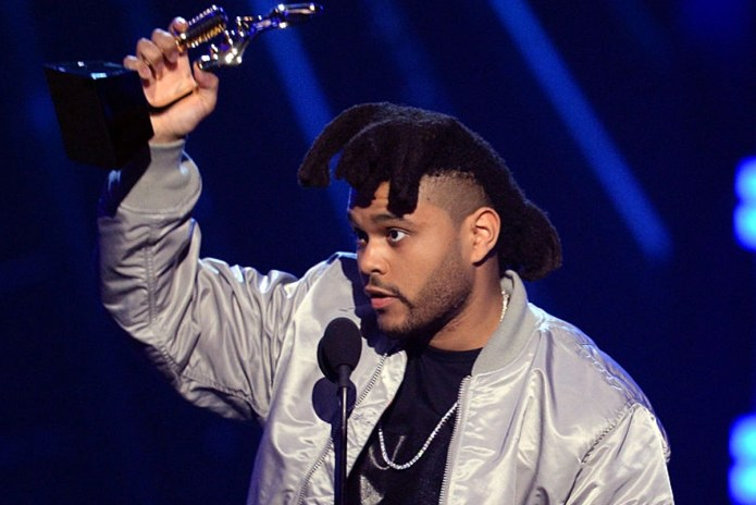 The Weeknd Wins Top Hot 100 Artist Billboard Award & Dedicates it to Prince