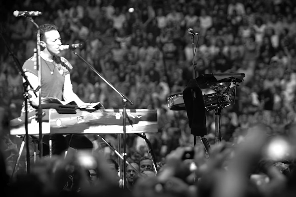 """Watch Coldplay's Powerful Live Performance of """"Amsterdam"""""""