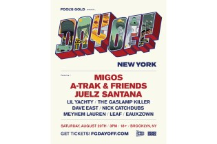 Fool's Gold Announces 2016 Day Off New York