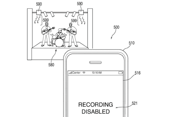 This New Apple Patent Could Prevent You from Snapping Photos or Videos at Concerts