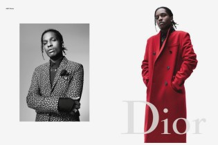 A$AP Rocky Is the New Face of Dior Homme's 2016 Fall/Winter Campaign