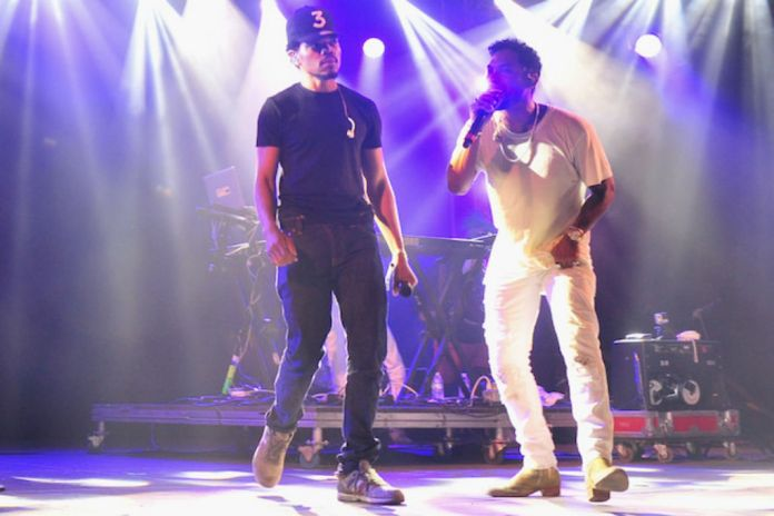 """Chance The Rapper & Miguel Cover """"Juicy"""" at Bonnaroo"""