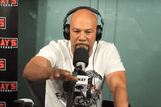 Common Talks #OscarsSoWhite and Police Brutality During 'Sway In The Morning' Freestyle
