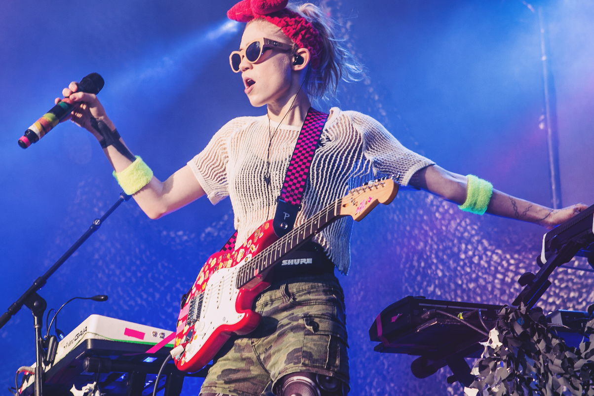 Grimes Speaks out After Walking off Stage at Barclays Center