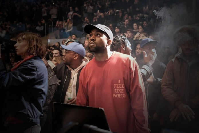 "Watch Kanye West & Big Sean Debut 'Cruel Winter' Single ""Champions"" Live"