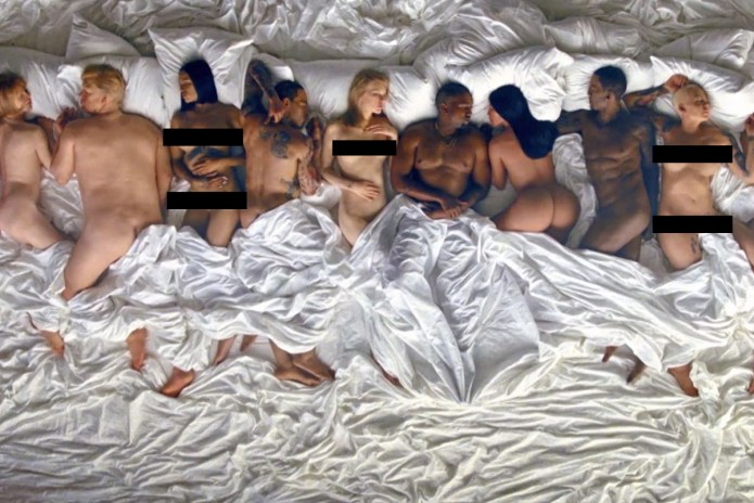 "Lena Dunham Labels Kanye West's ""Famous"" Video ""Disturbing"" & ""Sickening"""