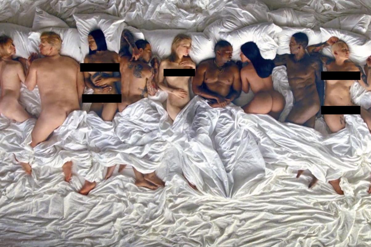 "Lena Dunham Labels Kanye West's ""Famous"" Video ""Disturbing"" & ""Sickening"""