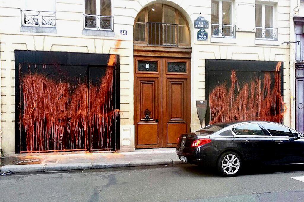 Kidult Vandalizes Kanye West's 'The Life of Pablo' Shop in Paris