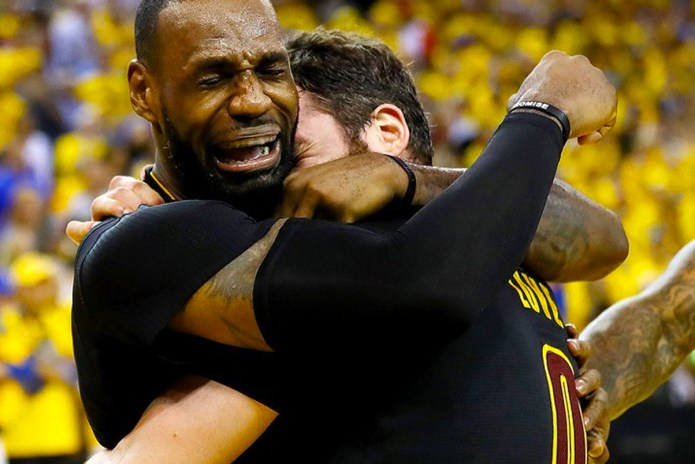 Crying LeBron James Is Already Going Viral