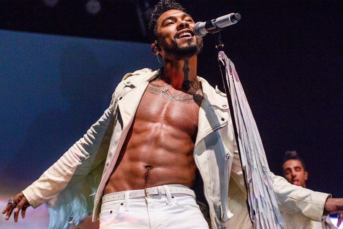 miguel shares new song come through and chill