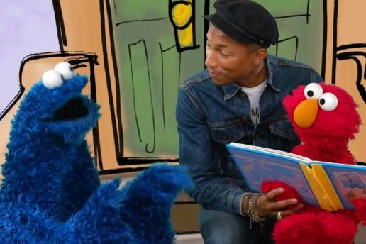 Pharrell Sings With Elmo & Cookie Monster on 'Sesame Street'