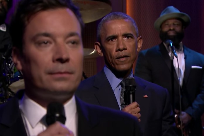 President Barack Obama Slow Jams the News With Jimmy Fallon & The Roots