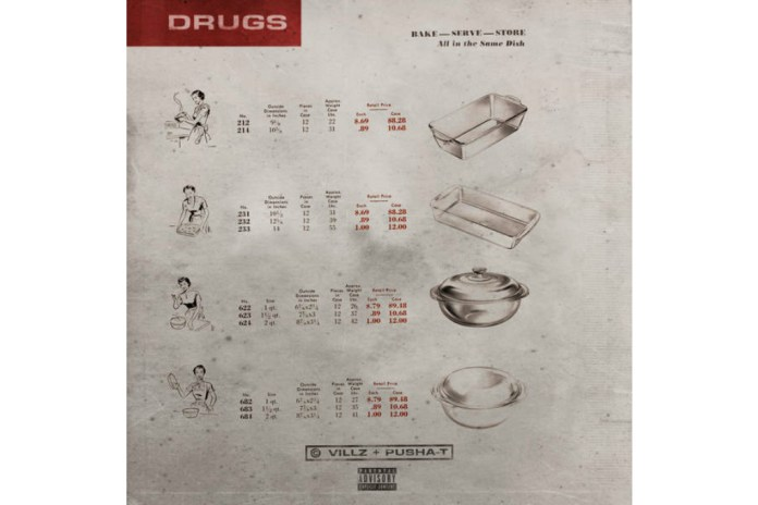 "Pusha T Connects With Villz on New Single, ""Drugs"""