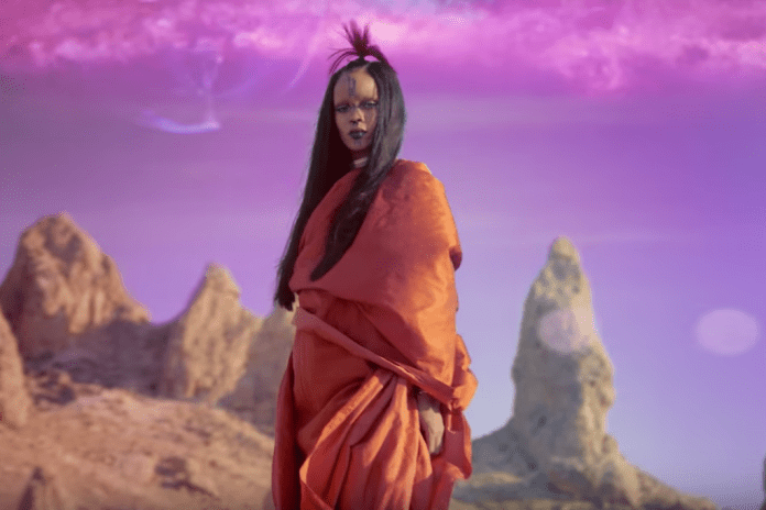 "Watch Rihanna's New Music Video for ""Sledgehammer"""