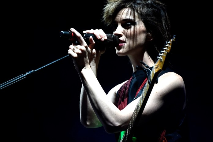 St. Vincent Debuted a New Song Last Night