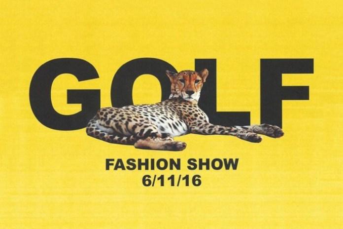Watch Tyler, the Creator's Golf Fashion Show