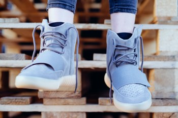 """An Up Close Look at Kanye West's Upcoming Yeezy Boost 750 """"Light Grey/Gum"""""""