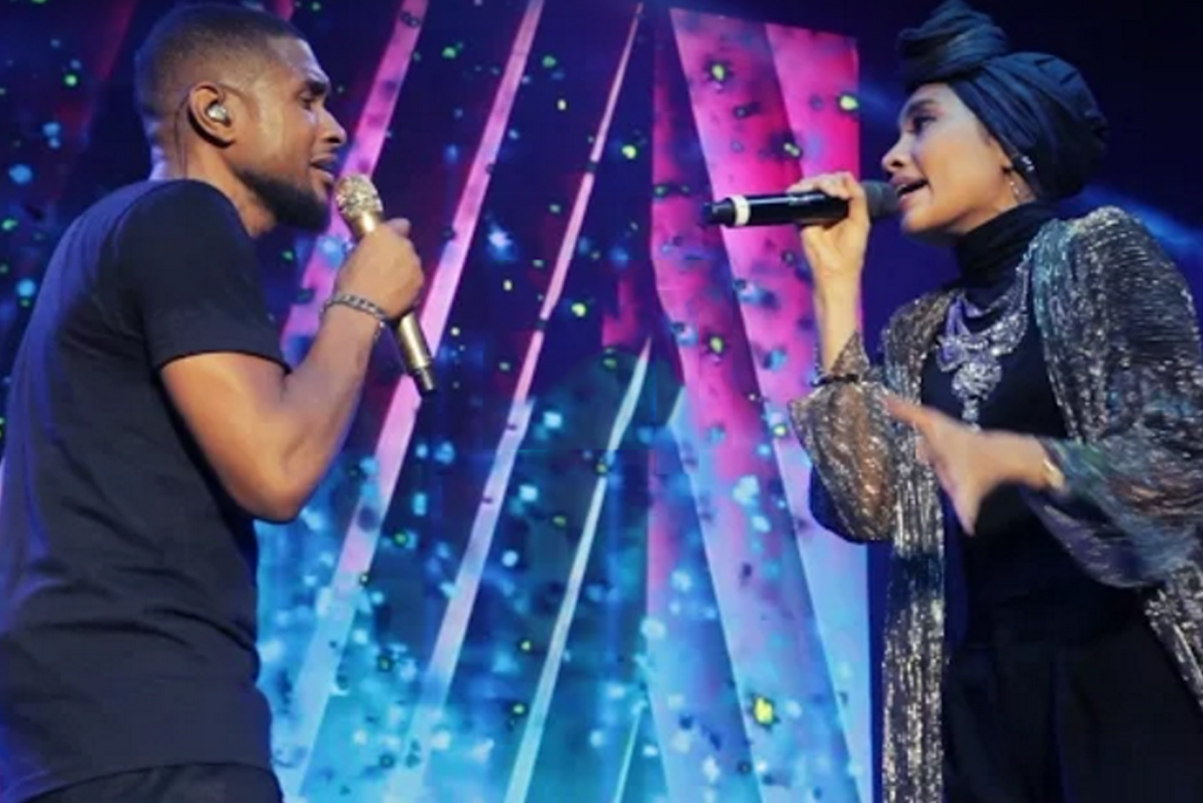 "Watch Yuna, Usher & The Roots Perform ""Crush"""