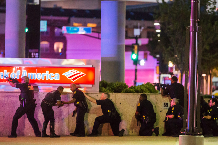 Dallas Police Sniper Suspect Killed During Standoff