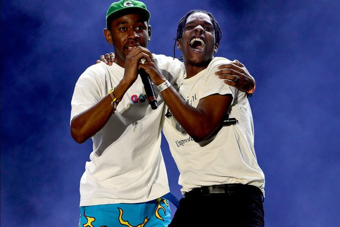 A$AP Rocky & Tyler, the Creator Turn Up at Target