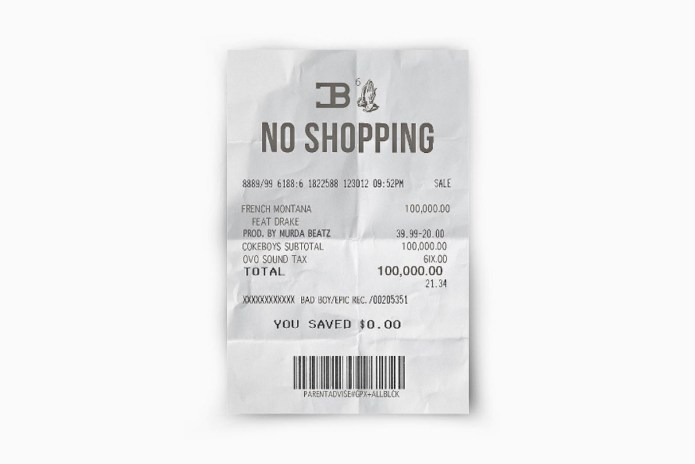 """French Montana & Drake Link up for New Song """"No Shopping"""""""