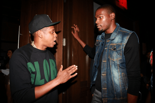 Jay Z Urged Kevin Durant to Meet With Knicks & Nets But He Declined