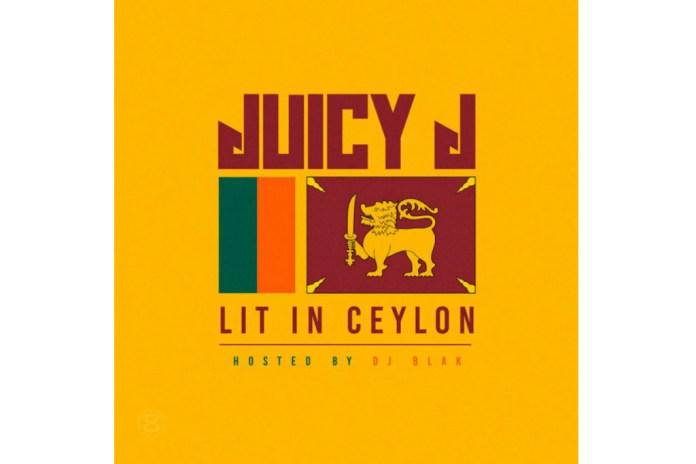 Juicy J Unleashes New 'Lit In Ceylon' Mixtape
