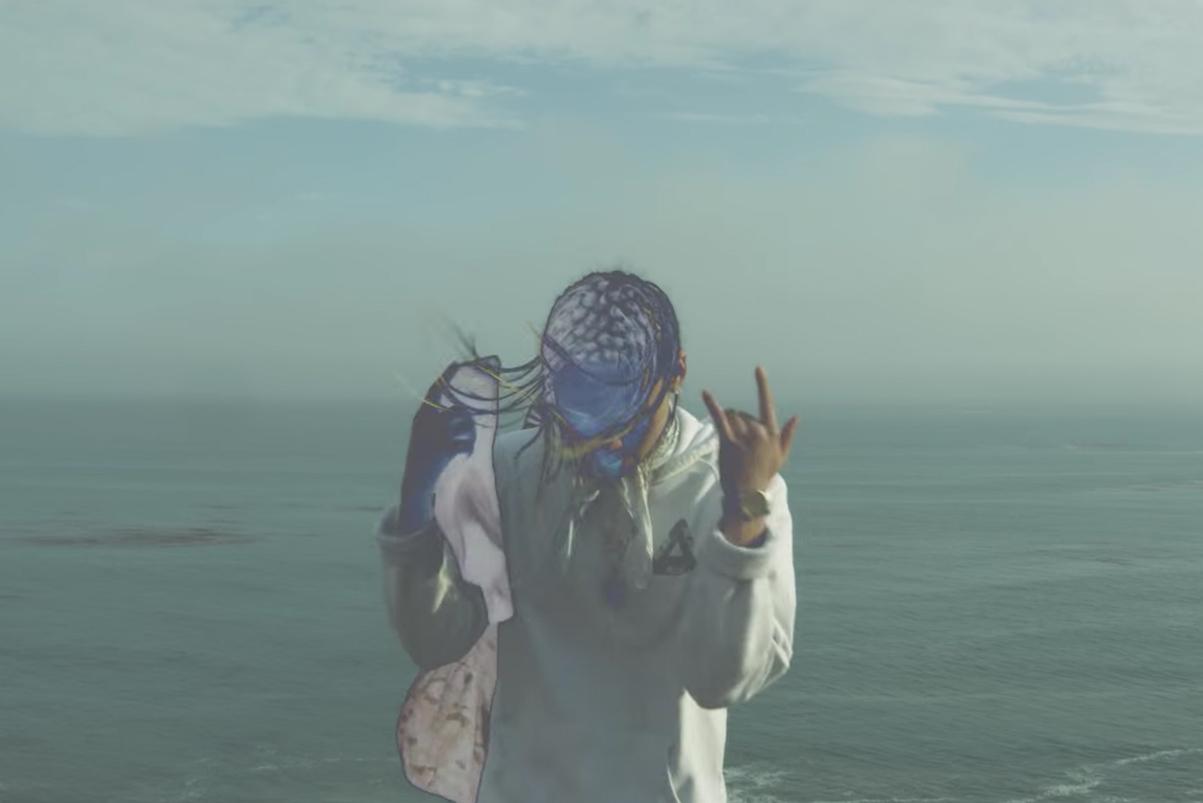 "Keith Ape Returns in Okasian & Bryan Cha$e's ""Underwater Bank"" Video"