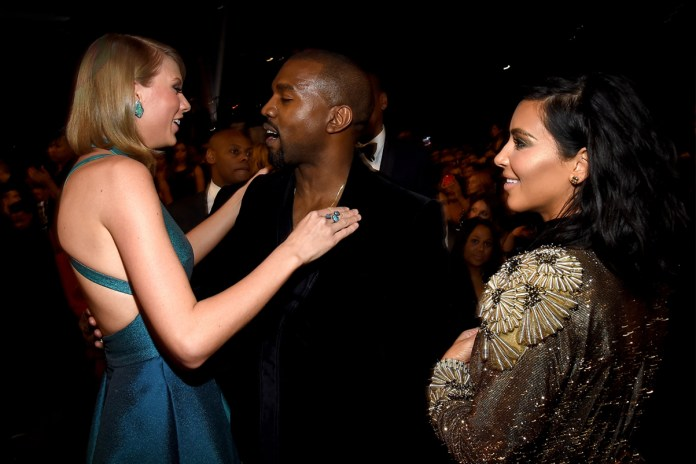 """Kim Kardashian Proves Kanye West Gave Heads up to Taylor Swift for """"Famous"""" Line"""