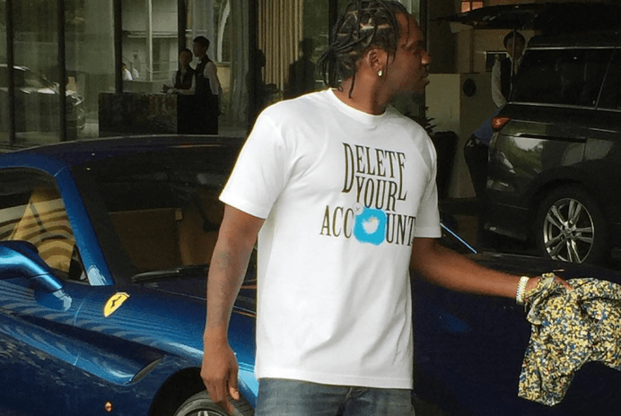 Pusha T Spotted Rocking Anti-Trump Shirt
