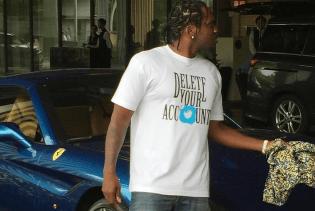 Pusha T Spotted Rocking Anti-Trump Shirt