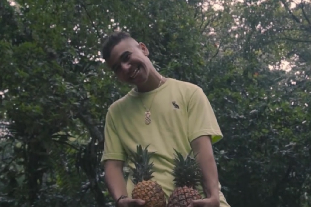 """Ramriddlz Plays with Pineapples for """"Call Me"""" Video"""