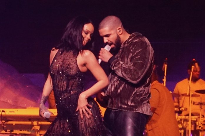 "Watch Drake & Rihanna Shut Down Manchester With Surprise Performance of ""Work"" and ""One Dance"""