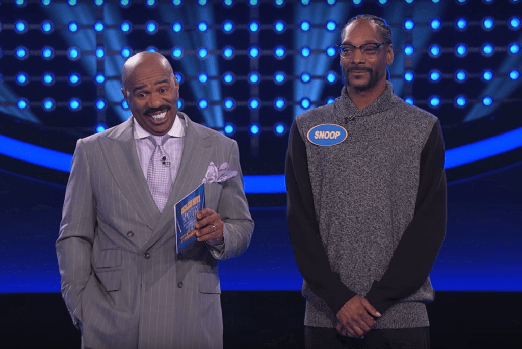 Snoop Dogg is Really Good at Family Feud