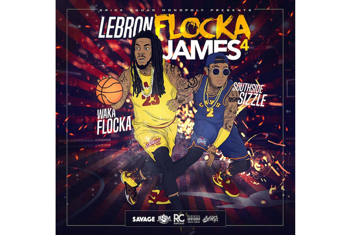 Waka Flocka Flame Just Dropped His New Mixtape, 'LeBron Flocka James 4′