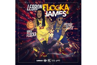 Waka Flocka Flame Just Dropped His New Mixtape, 'LeBron Flocka James 4′