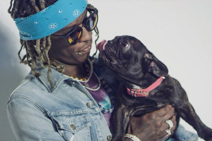 Young Thug Earns His Very First Platinum Single