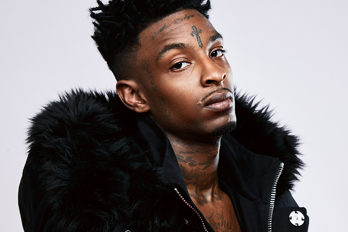 See 21 Savage Modeling Virgil Abloh's OFF-WHITE F/W Collection