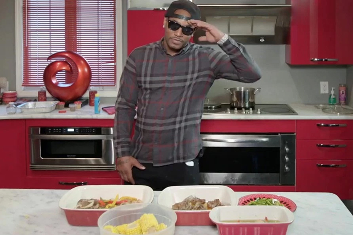 Cam'ron Breaks Down Some Essential Kitchen Rules