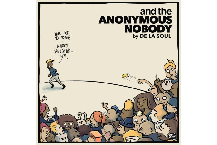 Stream De La Soul's Crowdfunded Album 'and the Anonymous Nobody'