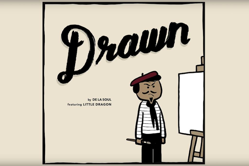 """De La Soul & Little Dragon Collaborate on New Single, """"Drawn"""""""