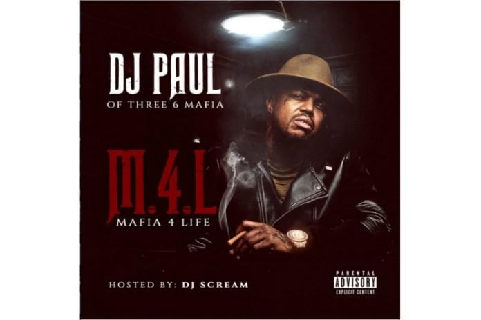 Three 6 Mafia's DJ Paul Unleashes New 'Mafia 4 Life' Mixtape