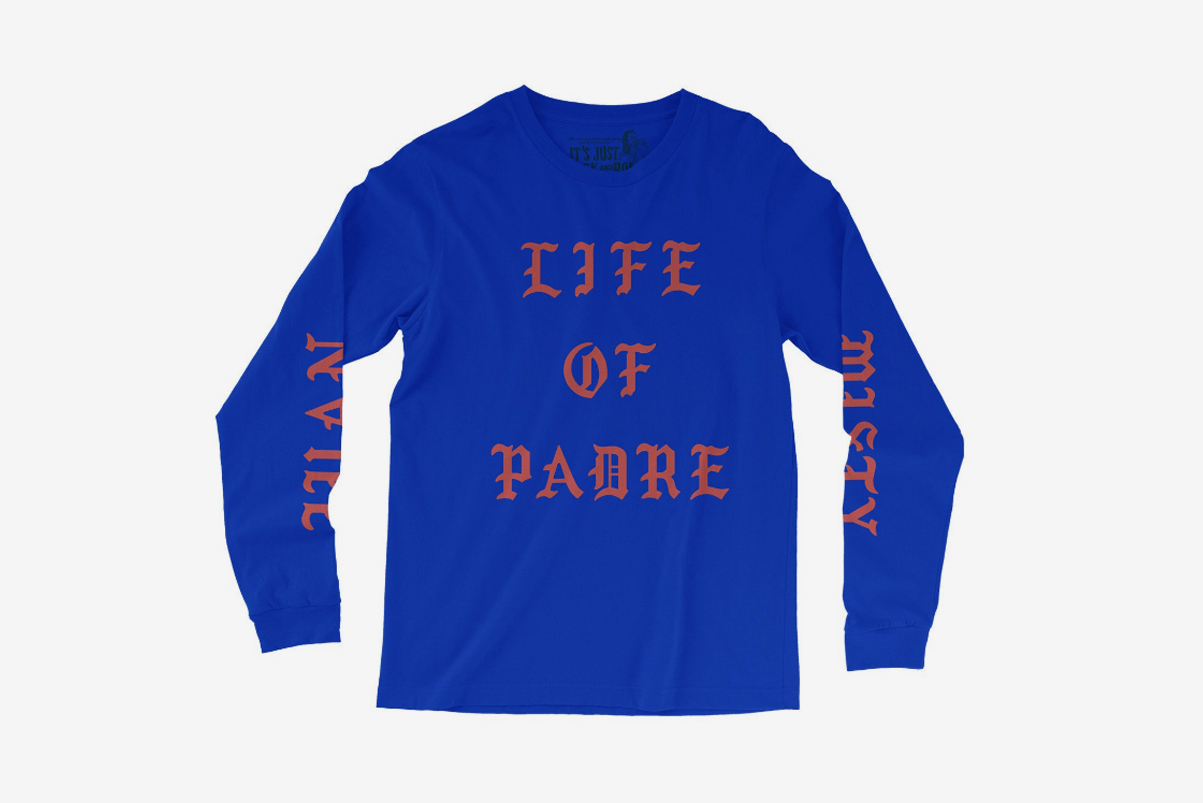 father john misty merch kanye west the life of pablo merch