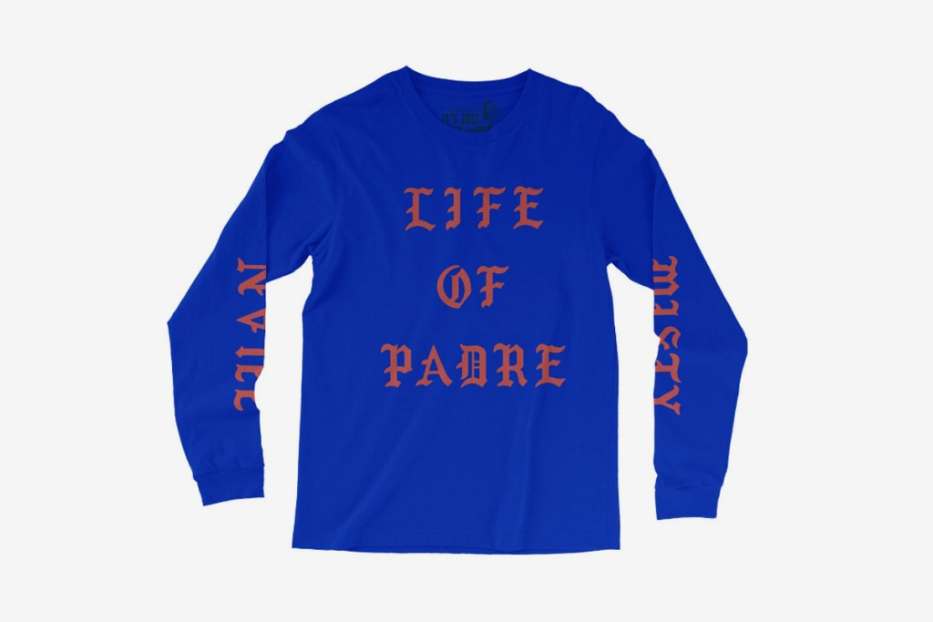 Father john misty 39 s new merch parodies kanye west 39 s 39 the for Life of pablo merch
