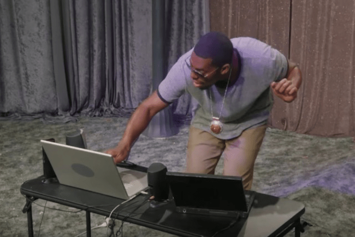 Watch Flying Lotus' Hilarious Email Skit on The Eric Andre Show